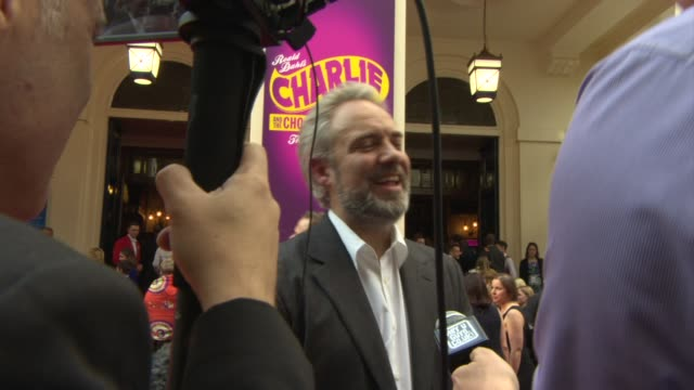 CLEAN Charlie The Chocolate Factory Opening Night at Theatre Royal on June 25 2013 in London England