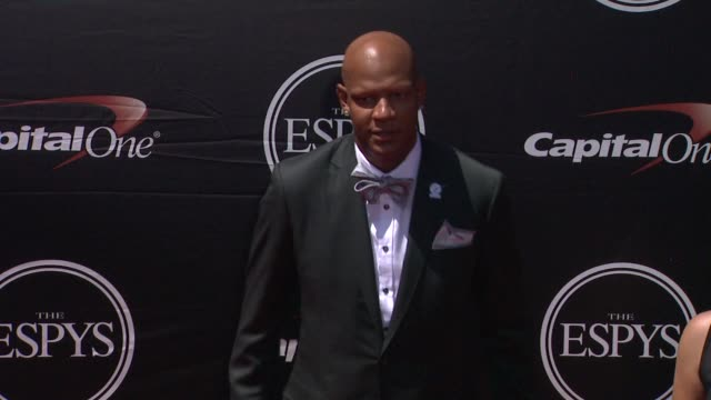 charlie villanueva at the 2015 espys at microsoft theater on july 15 2015 in los angeles california - microsoft theater los angeles stock videos and b-roll footage