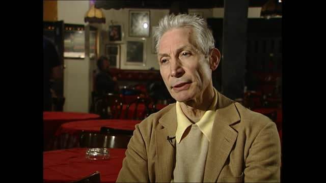 charlie watts interview; part 1 of 4 england: london: ronnie scott's: int charlie watts interview sot q: how did this ten piece group come together -... - 10 11 years stock videos & royalty-free footage