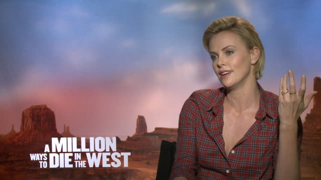 Charlize Theron About The 'A Million Ways To Die in the West' movie