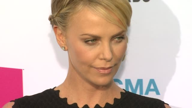 Charlize Theron at 17th Annual Critics' Choice Movie Awards on 1/12/12 in Hollywood CA