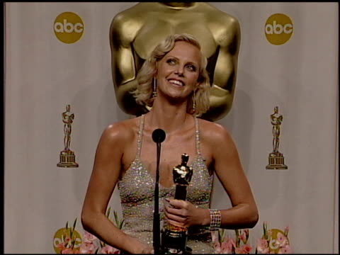Charlize Theron at the 2004 Academy Awards Ballroom at the Kodak Theatre in Hollywood California on February 29 2004