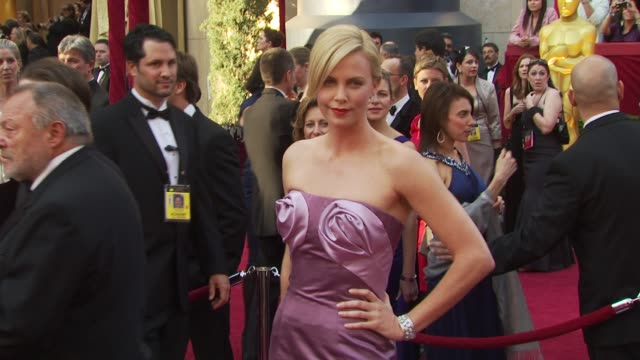 Charlize Theron at the 82nd Annual Academy Awards Arrivals at Hollywood CA