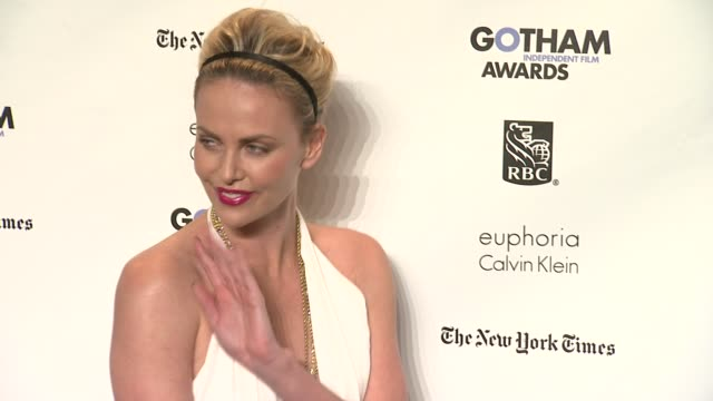 Charlize Theron at the IFP's 21st Annual Gotham Independent Film Awards Red Carpet at New York NY