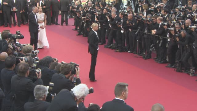 Charlize Theron at 'The Last Face' Red Carpet at Grand Theatre Lumiere on May 20 2016 in Cannes France