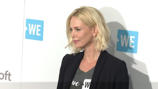 Charlize Theron at WE Day California at The Forum on April 07 2016 in Inglewood California