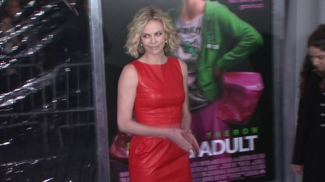 Charlize Theron at 'Young Adult' World Premiere Arrivals Red Carpet New York NY United States