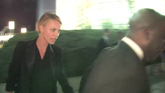 Charlize Theron in Century City on