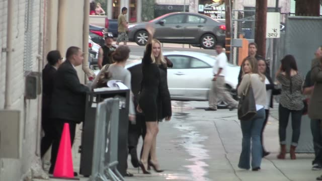 Charlize Theron leaving Hollywood 05/24/12