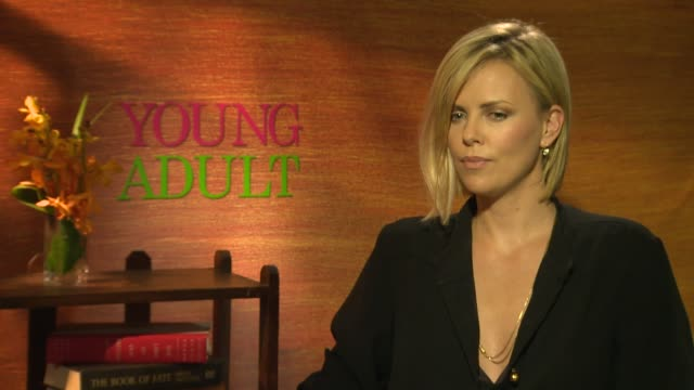 Charlize Theron on her favorite music genres and about het motherland South Africa at the 'Young Adult' interview