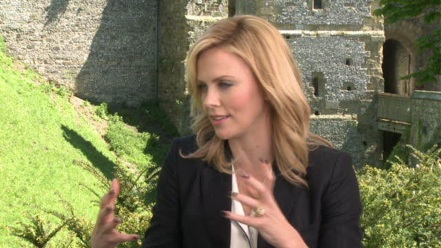 Charlize Theron on playing the evil queen in the Snow White adaptation 'Snow White and the Huntsman' and playing along Kristen Stwewart