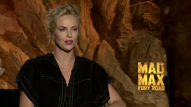 Charlize Theron on the AIDS problematic in South Africa