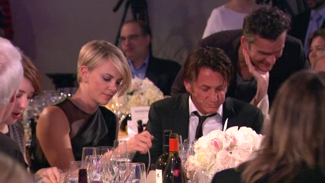 Charlize Theron Sean Penn at 3rd Annual Sean Penn Friends 'Help Haiti Home' Gala Presented By Giorgio Armani To Benefit J/P Haitian Relief...