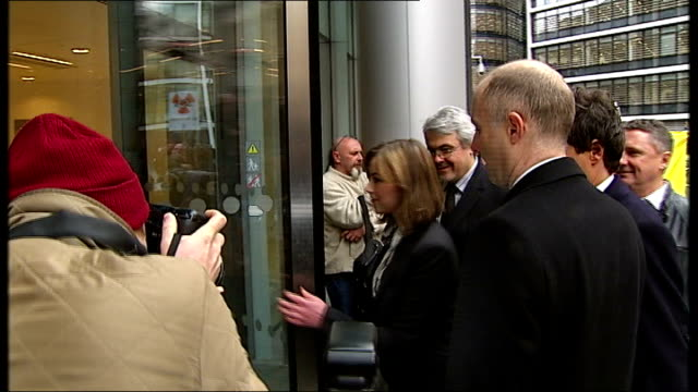 charlotte church arriving at high court; england: london: high court: ext charlotte church and others arriving at high court building - charlotte church stock videos & royalty-free footage