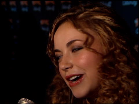 charlotte church at the 'n sync celebrity album party at moomba in west hollywood, california on july 23, 2001. - charlotte church stock videos & royalty-free footage