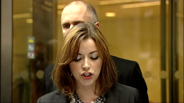 charlotte church settles news of the world phone hacking claim england london royal courts of justice the rolls building photography ** charlotte... - 盗聴点の映像素材/bロール
