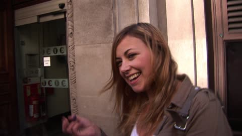 charlotte church visits radio one to promote new material charlotte church visits radio one at radio one studios on september 18, 2010 in london,... - charlotte church stock videos & royalty-free footage