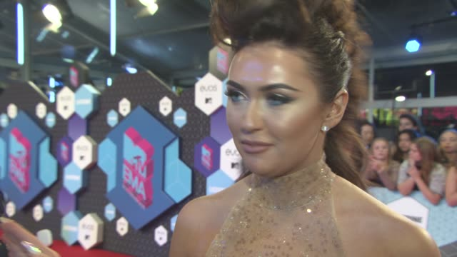 interview charlotte dawson on being glam her hangover how she got ready for the show at mtv emas on november 6 2016 in rotterdam netherlands - the morning after stock videos and b-roll footage