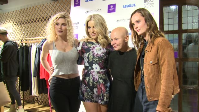 stockvideo's en b-roll-footage met charlotte de carle ashley roberts gail porter olivia cox at liberty on july 13 2016 in london england - gail porter