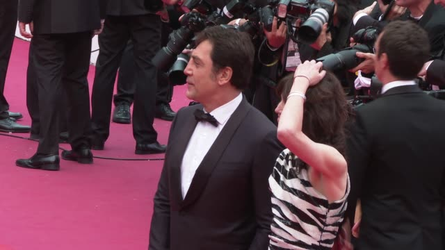 Charlotte Gainsborough Javier Bardem at 'The Dead Don't Die' Red Carpet Arrivals Opening Ceremony The 72nd Cannes Film Festival on May 14 2019 in...
