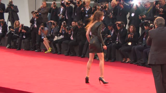 Charlotte Gainsbourg at 'Nymphomaniac Volume 1 Director's Cut' Red Carpet 71st Venice International Film Festival on September 01 2014 in Venice Italy