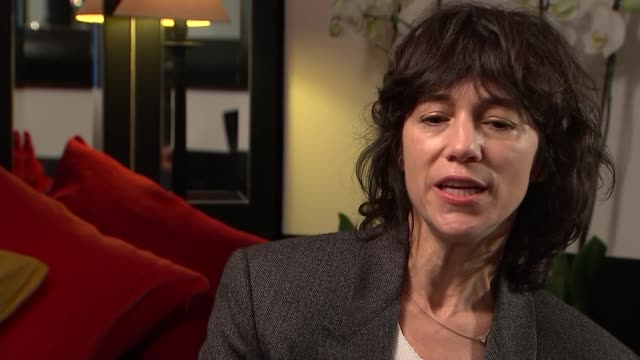 Charlotte Gainsbourg interview Charlotte Gainsbourg interview SOT on sexual provocation in her work on lemon incest video
