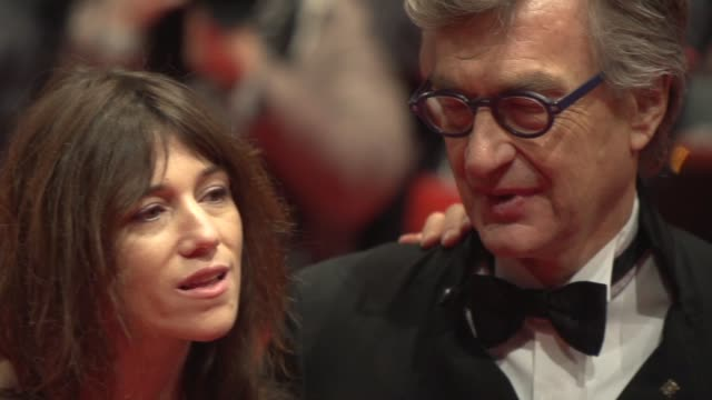 SLOMO Charlotte Gainsbourg James Franco Wim Wenders at 'Every Thing Will be Fine' Carpet 65th Berlin Film Festival at Berlinale Palast on February 10...