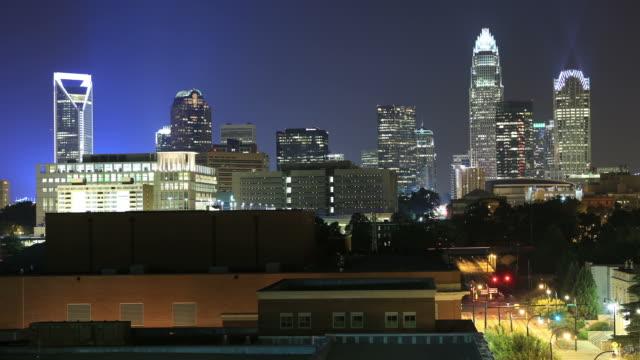 ノースカロライナ州シャーロット - ノースカロライナ州点の映像素材/bロール