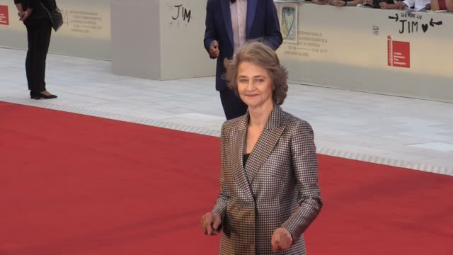 Charlotte Rampling at 2017 Venice Film Festival closing ceremony red carpet Paris France 9th September 2017