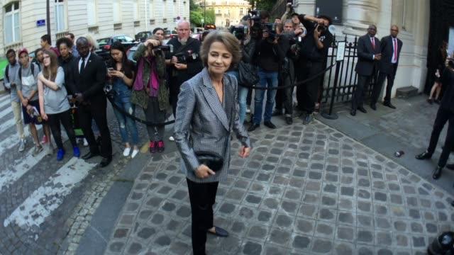 charlotte rampling at vogue paris foundation gala on july 5, 2016 in paris, france. - charlotte rampling stock videos & royalty-free footage