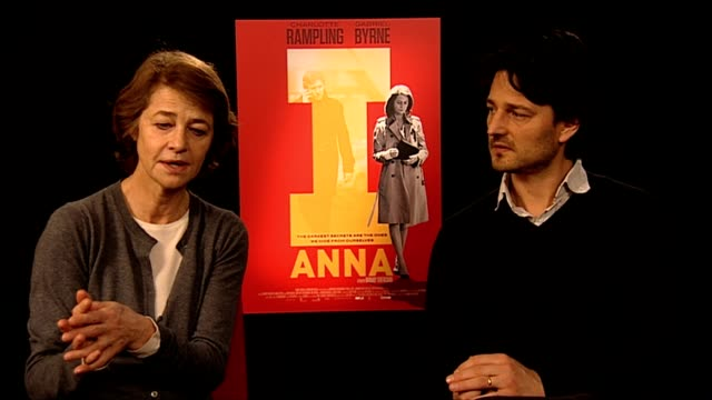 charlotte rampling on love, age, how she see's herself at i, anna interview: 62nd international film festival 2012 at on february 13, 2012 in berlin,... - charlotte rampling stock videos & royalty-free footage