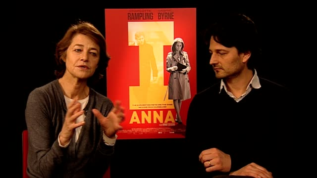 charlotte rampling on the challenges of her character at i, anna interview: 62nd international film festival 2012 at on february 13, 2012 in berlin,... - charlotte rampling stock videos & royalty-free footage