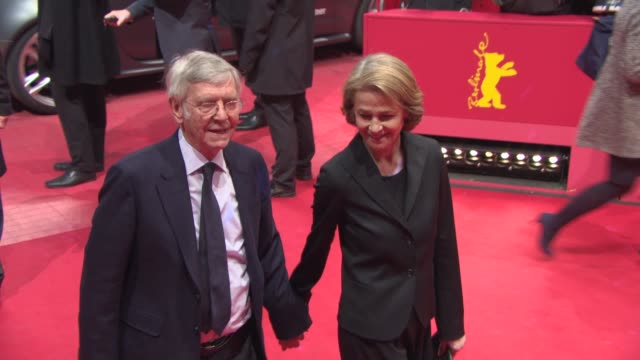 broll charlotte rampling tom courtenay at gala award ceremony 65th berlinale red carpet 65th berlin film festival at berlinale palace on february 14... - tom courtenay stock videos & royalty-free footage