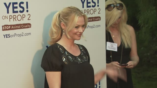 charlotte ross at the ellen degeneres and portia de rossi host yes on prop 2 party at los angeles ca - ellen degeneres stock videos and b-roll footage