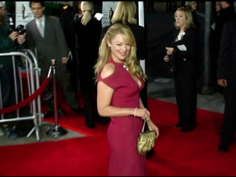 Charlotte Ross at the 'Kinsey' Premiere Arrivals at the Mann Village Theatre in Westwood California on November 8 2004