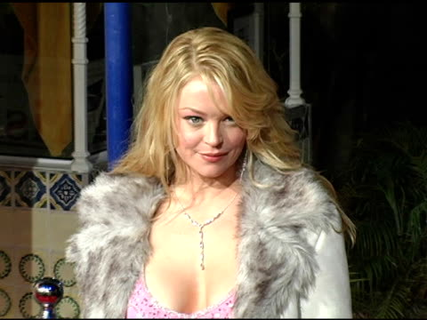 charlotte ross at the 'spanglish' premiere at the mann village theatre in westwood california on december 9 2004 - spanglish stock videos & royalty-free footage