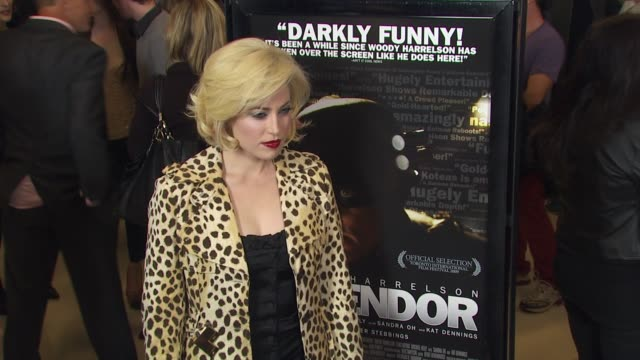 vídeos de stock, filmes e b-roll de charlotte sullivan at the 'defendor' premiere at los angeles ca - defendor