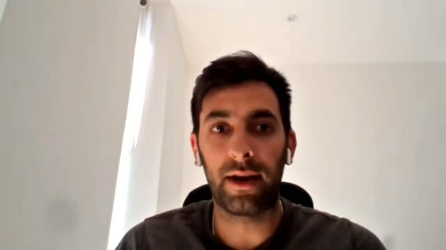 """stockvideo's en b-roll-footage met charlton women assistant boss riteesh mishra says while there is """"still a lot of work to do"""" he feels optimistic about things in terms of south asian... - english football association"""