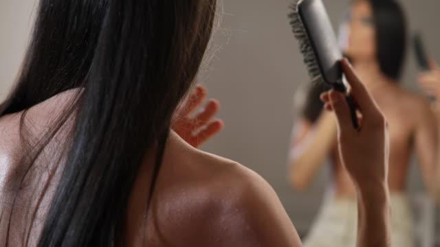 魅力的な女装 - マスカラ点の映像素材/bロール