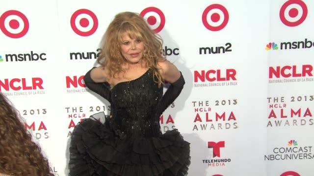 charo at 2013 nclr alma awards on 9/27/2013 in pasadena ca - alma awards stock videos and b-roll footage