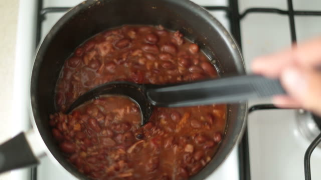 charro beans - bean stock videos & royalty-free footage