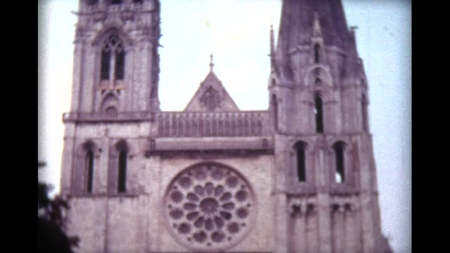 1973 Chartres Cathedral with West Rose Window