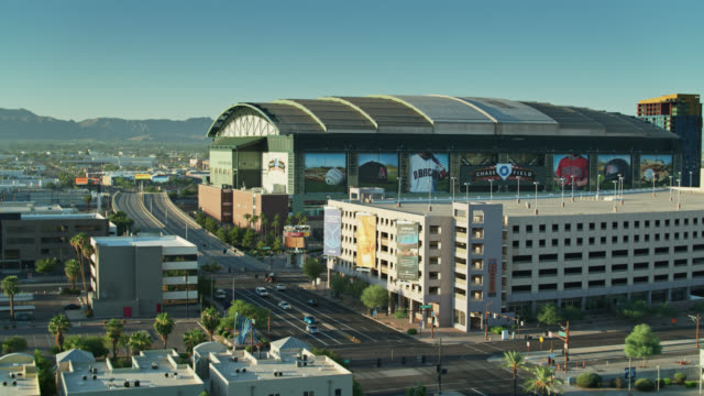 chase field, phoenix - sports league stock videos & royalty-free footage