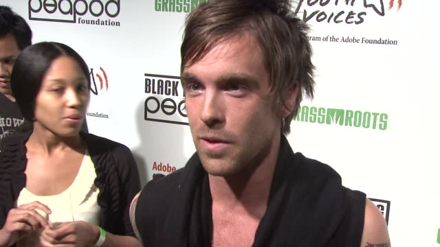 chase johnson on attending tonight's event at the 5th annual black eyed peas peapod foundation benefit concert at los angeles ca - benefit concert stock videos & royalty-free footage