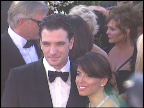 jc chasez at the 2004 emmy awards arrivals at the shrine auditorium in los angeles california on september 19 2004 - jc chasez stock-videos und b-roll-filmmaterial