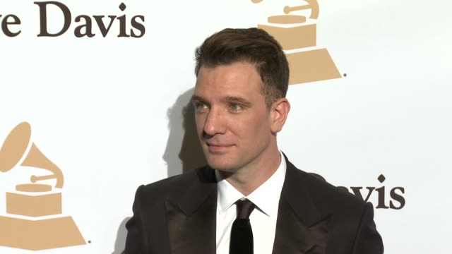 jc chasez at the 2016 pregrammy gala and salute to industry icons honoring irving azoff at the beverly hilton hotel on february 14 2016 in beverly... - jc chasez stock videos & royalty-free footage