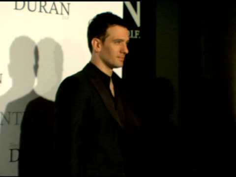 jc chasez at the an evening with tony duran arrivals at interior illusions in hollywood california on october 12 2006 - jc chasez stock videos & royalty-free footage