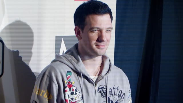 jc chasez at the maroon 5 album release party at the lot in hollywood california on may 22 2007 - jc chasez stock videos & royalty-free footage