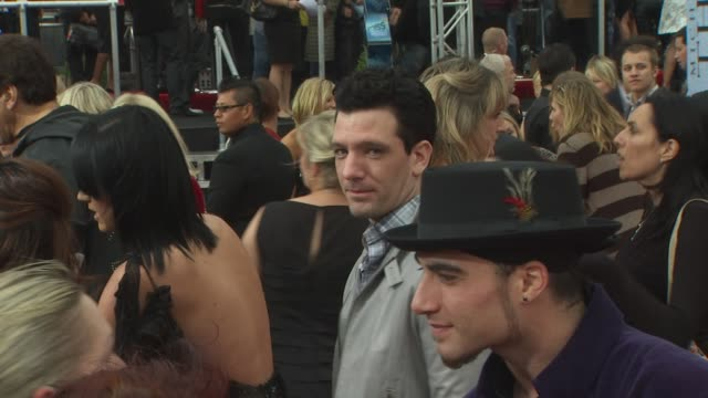 jc chasez at the 'michael jackson's this is it' premiere at los angeles ca - jc chasez stock videos & royalty-free footage