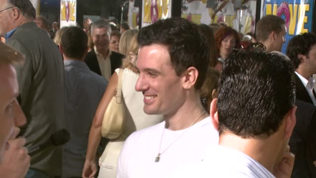 jc chasez at the 'the simpsons movie' los angeles premiere at the mann village theatre in westwood california on july 24 2007 - jc chasez stock videos & royalty-free footage